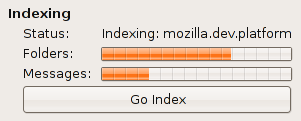 gloda m1 getting its indexing on